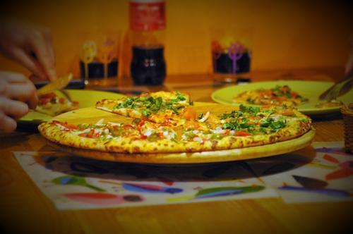 Pizza z rodziną