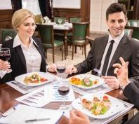 Lokal na kolacja biznesowa
